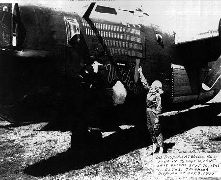 WWII pictures of B-24 Witchcraft